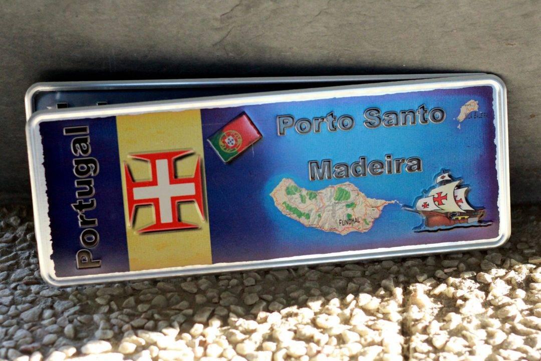 Placa Aluminio Portugal Premium Madeira e Porto Santo - Ocean Plates Placas em Aluminio