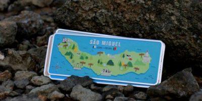 Placa Aluminio Portugal Premium Açores San Miguel - Ocean Plates Placas em Aluminio