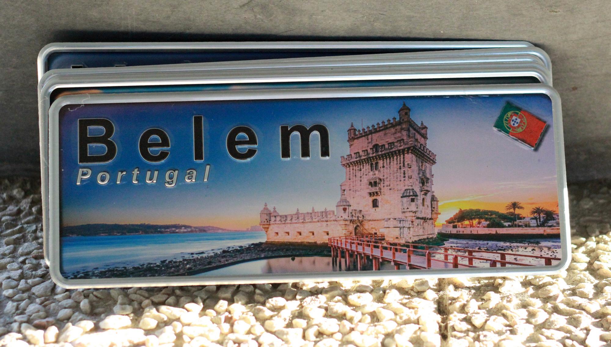 Aluminum Plate Portugal Premium Belém Tower - Ocean Plates Aluminum Plates