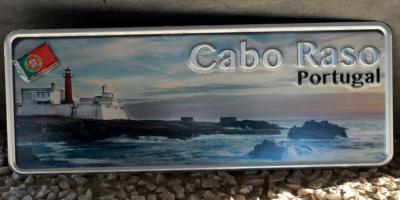 Placa Aluminio Portugal Premium Costa de Cabo Raso - Ocean Plates Placas em Aluminio