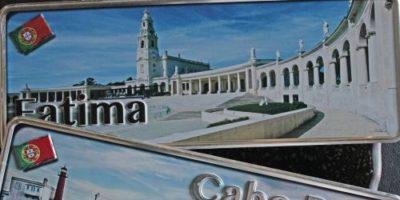 Placa Aluminio Portugal Premium Santuário de Fátima - Ocean Plates Placas em Aluminio