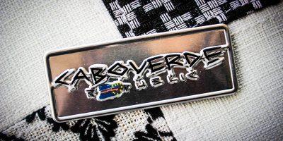 Placa Aluminio Cabo Verde Mini Cabo Verde Republic -Ocean Plates Placas em Aluminio