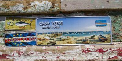 Placa Aluminio Cabo Verde Premium Cabo Verde Santa Maria - Ocean Plates Placas em Aluminio