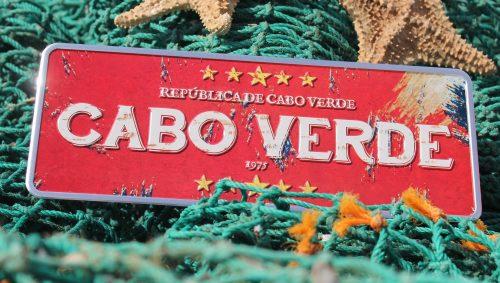 Placa Aluminio Cabo Verde Premium Repùblica de Cabo Verde - Ocean Plates Placas em Aluminio