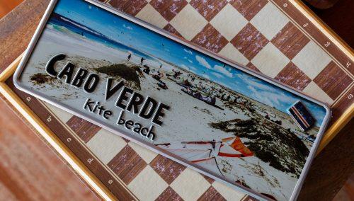 Placa Aluminio Cabo Verde Premium Kite Beach de Cabo Verde - Ocean Plates Placas em Aluminio